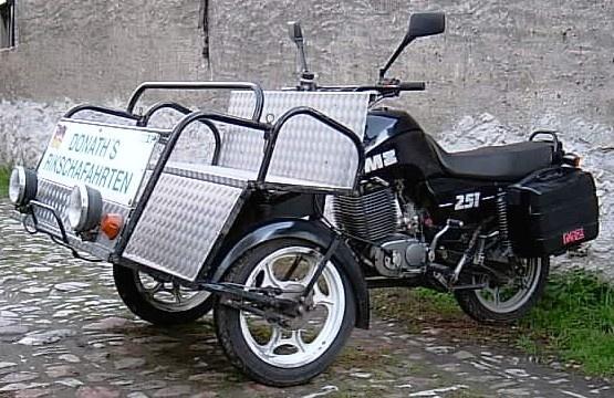 Prototype MZ ETZ 251 Rickshaw (1992) 08130255559