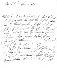 """Brief J. F. W. Zachariaes an J.W.L. Gleim vom 3. März 1755  Provenance/Rights:  Gleimhaus Halberstadt (CC BY-NC-SA)"