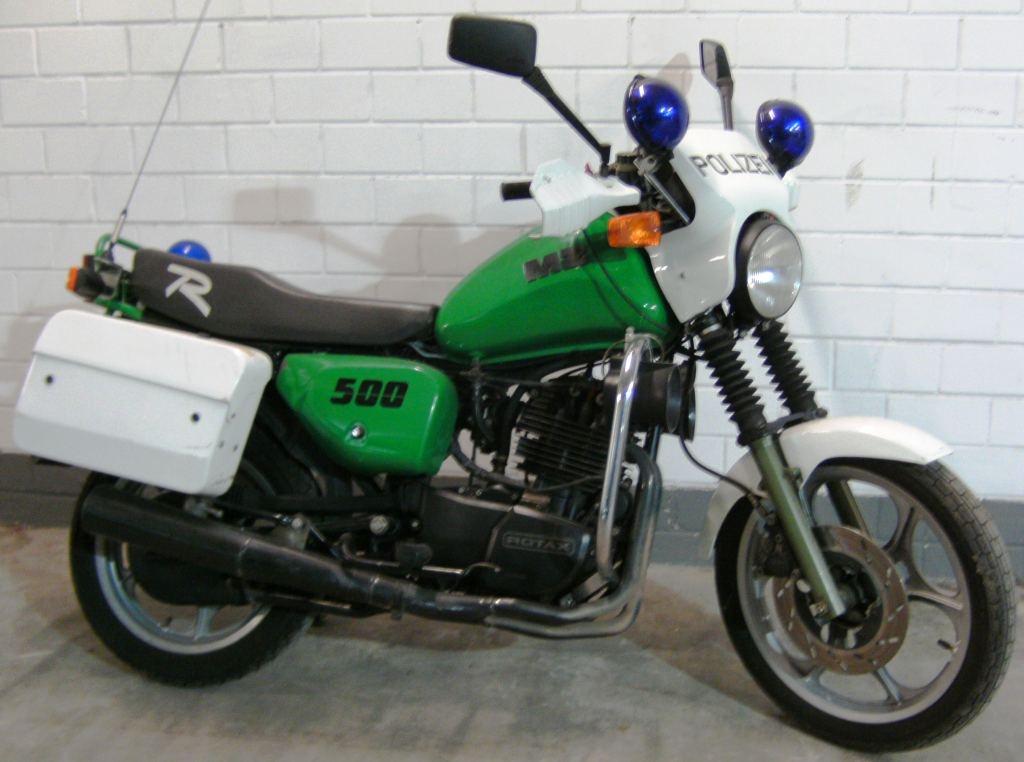 1996 Mz Rotax 500 RF police