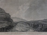 The great Bridge over the Taaffe in South Wales