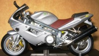 MZ 1000 S als Modell 1:24 in Farbe Silber