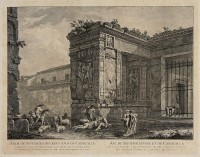 Arch of Septimus Severus and of Caracalla