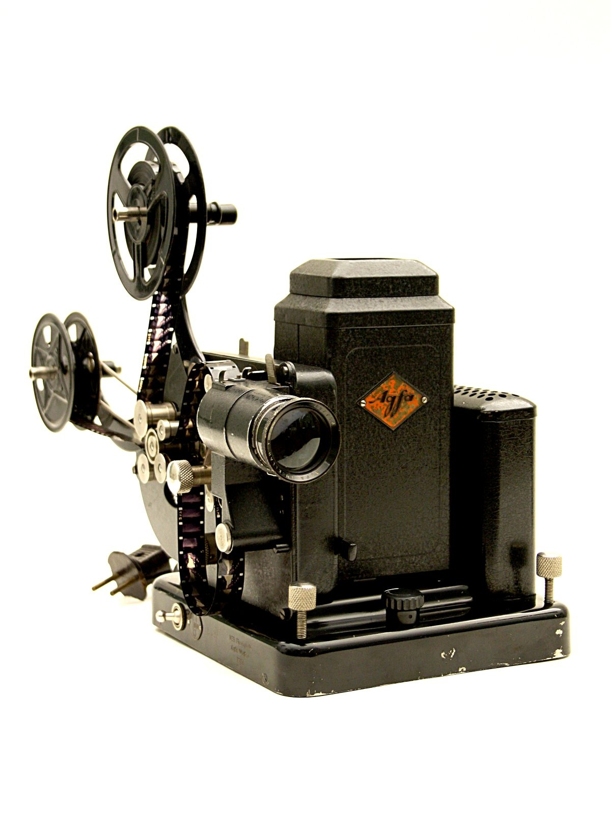 "Schmalfilmprojektor ""Agfa Movector Super 16 C"" (Industrie- und Filmmuseum Wolfen CC BY-NC-SA)"