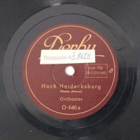 Schallplatte 78 rpm des Labels Derby
