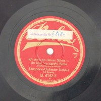 Schallplatte 78 rpm des Labels Gloria