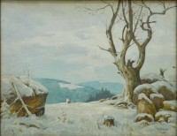 """Brocken im Schnee  Provenance/Rights:  Harzmuseum Wernigerode (CC BY-NC-SA)"