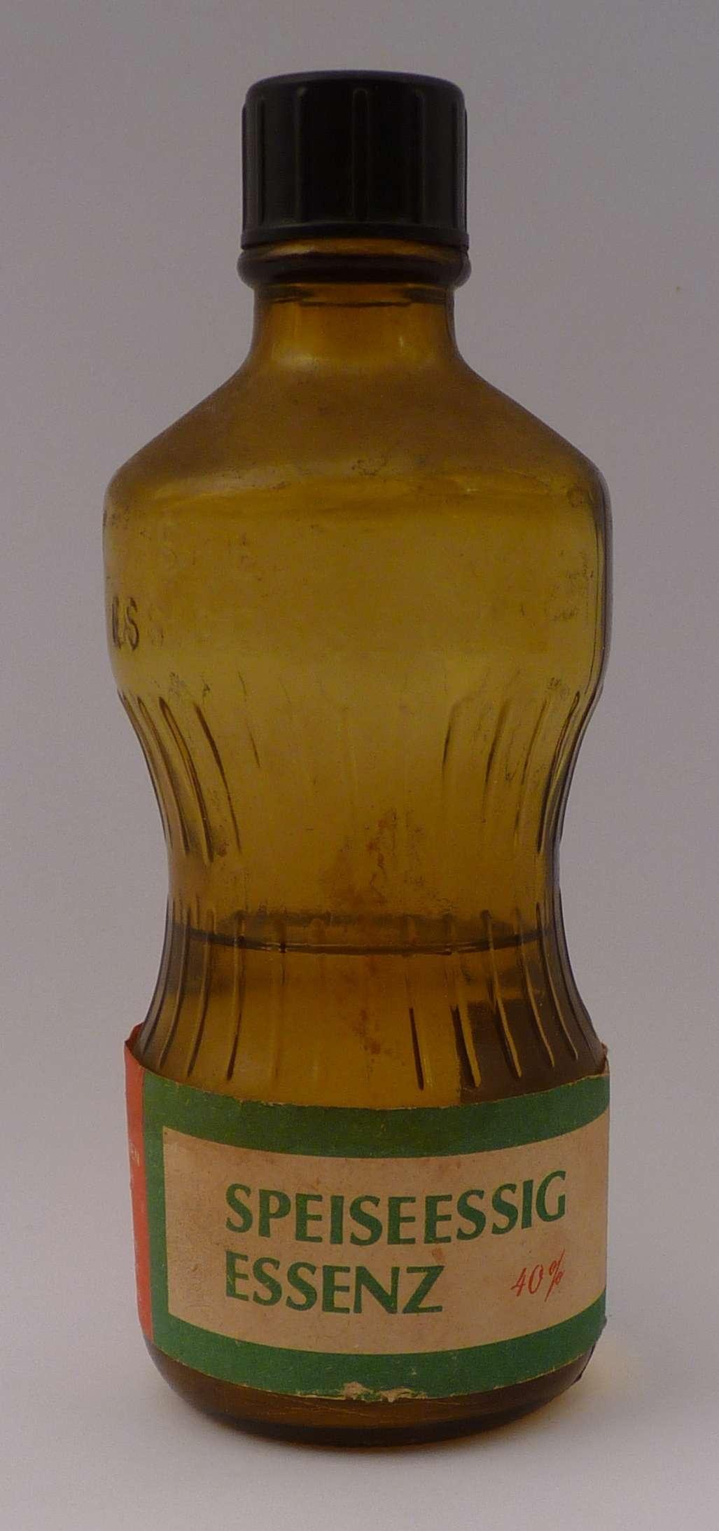 Essigessenz Glasflasche