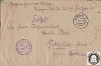Feldpostbrief Hermann Schiebel