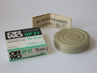 S/w Umkehr-Film ORWO UP 21, 16 mm