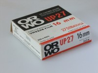 S/w Umkehr-Film ORWO UP 27, 16 mm