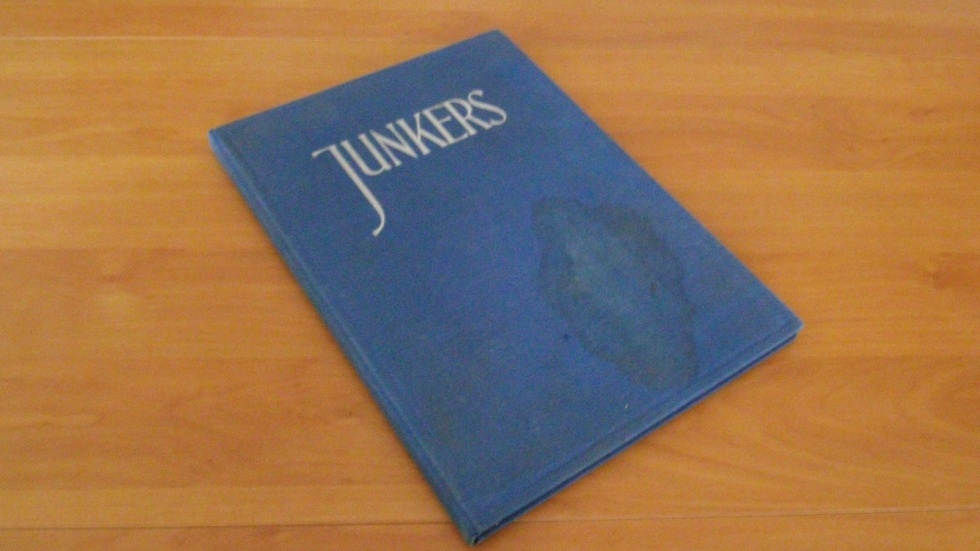 Festschrift Hugo Junkers zum 70. Geburtstag 2.Exemplar