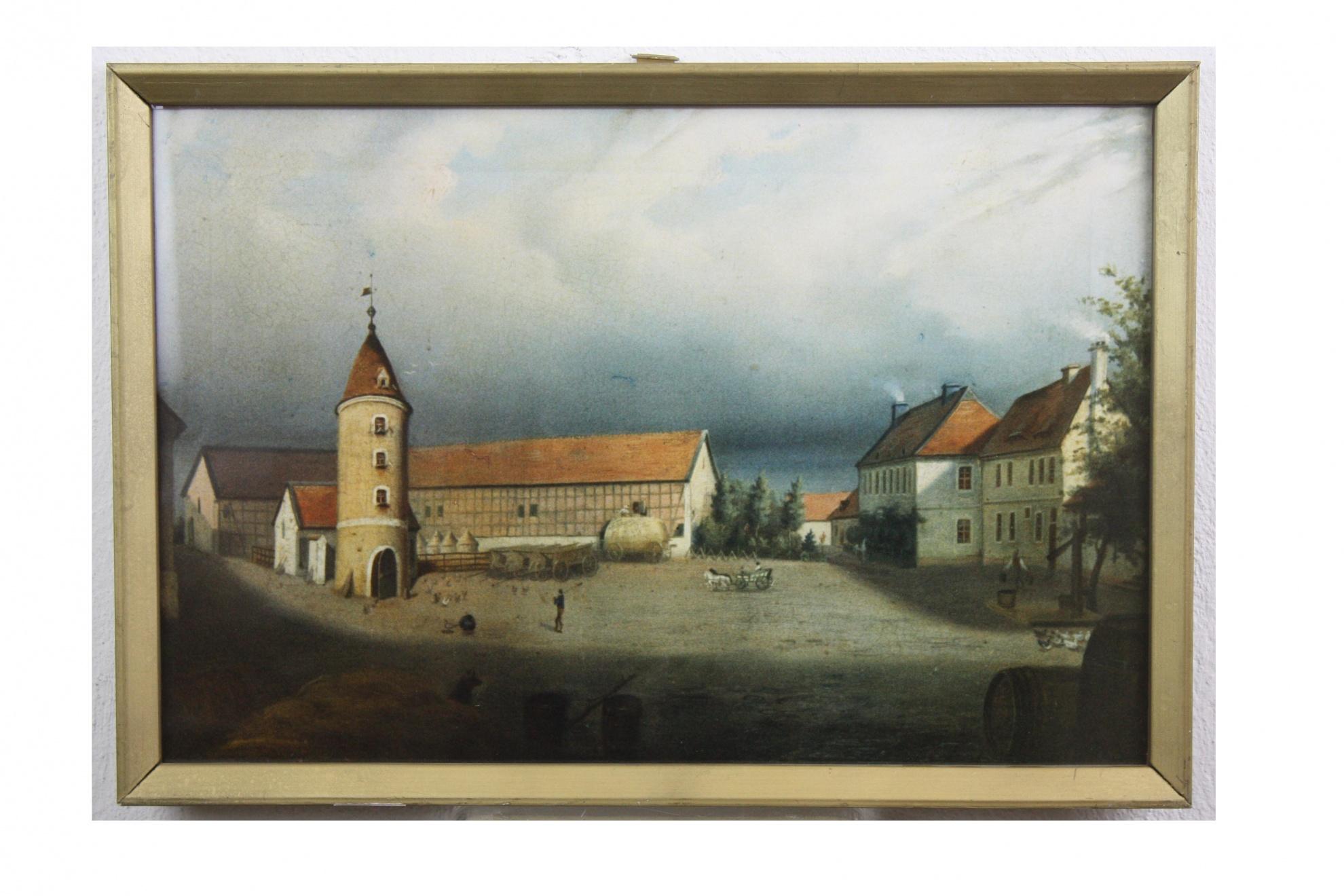 Fotografie, gerahmt, Junkerhof in Wolmirstedt :: Museum Wolmirstedt ...