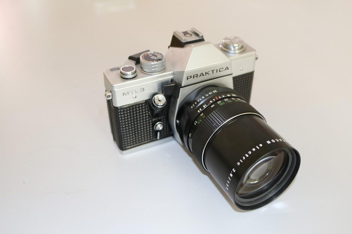Praktica mtl the camera that goes click · lomography