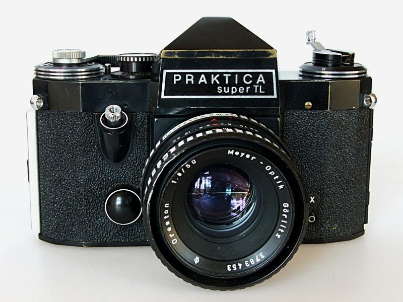 Praktica super tl manuelle filmkamera stockfoto bild alamy