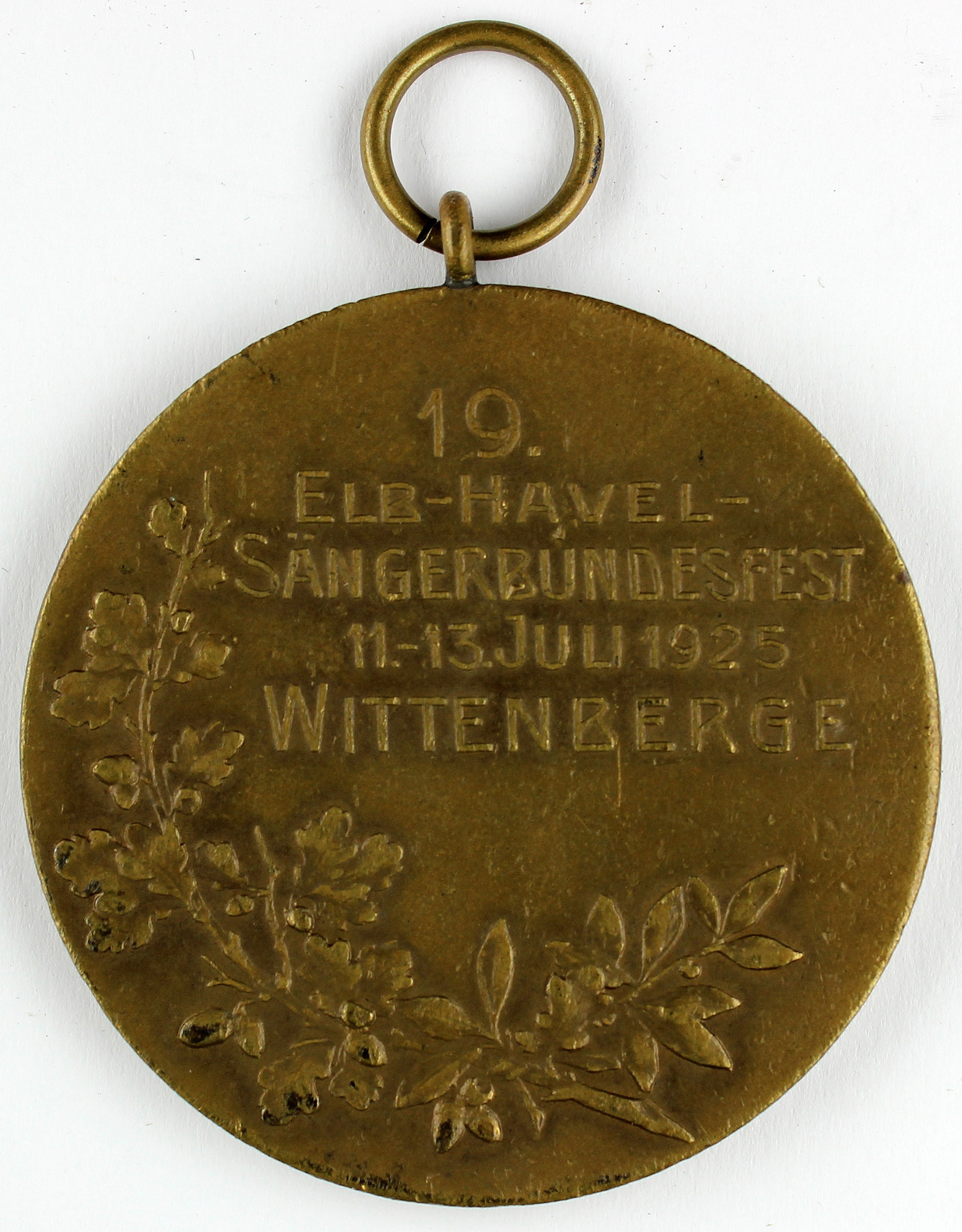 Plakette 1925 (Museum Wolmirstedt RR-F)
