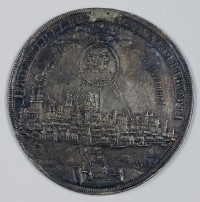 Medaille, Magdeburg, 1681