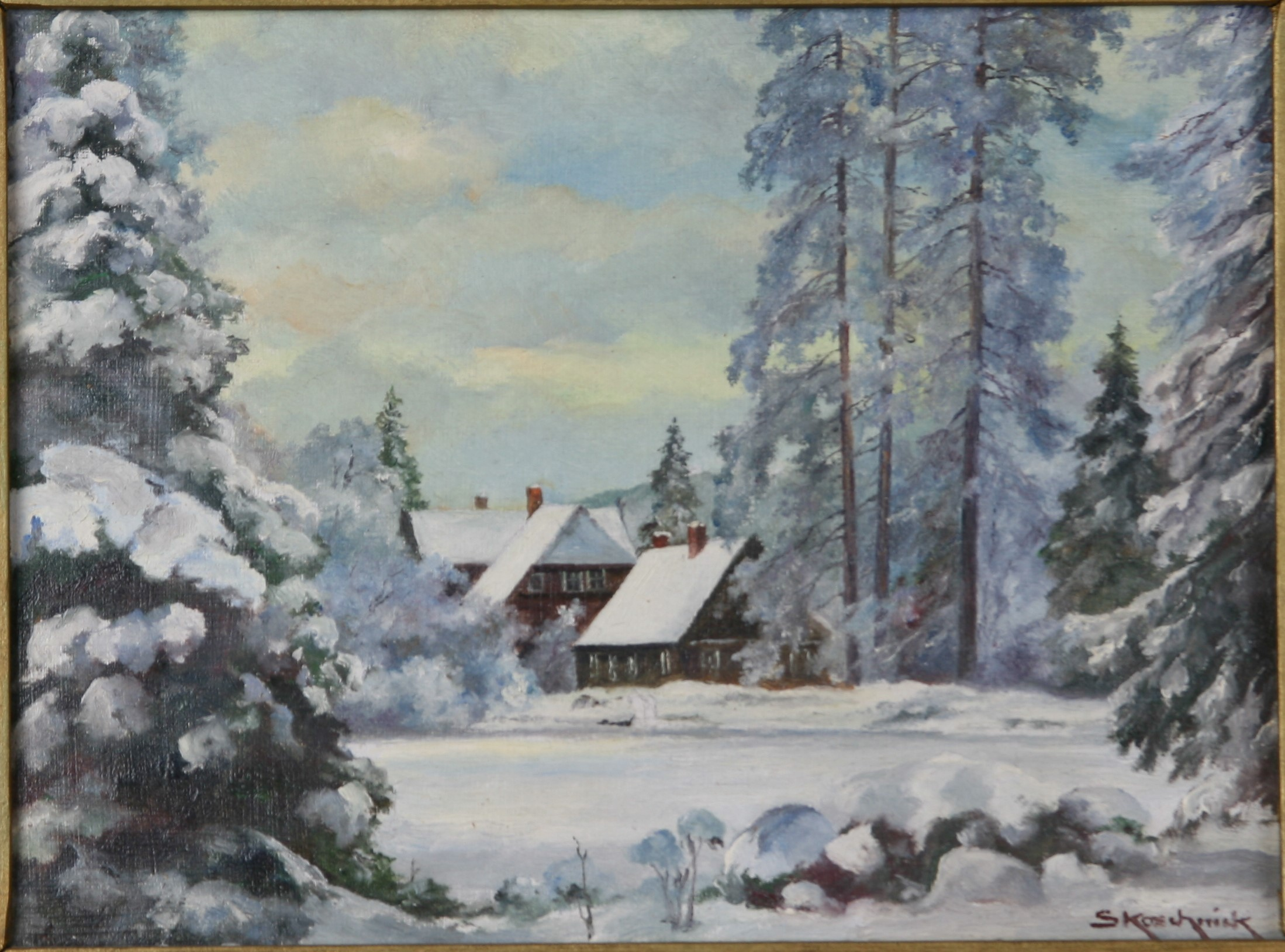 Winter im Christianental (Harzmuseum Wernigerode CC BY-NC-SA)