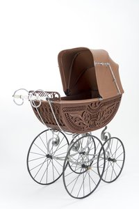 Naether Luxus-Kinderwagen 1906 Modell 3728