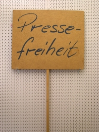 "Transparent ""Pressefreiheit"""