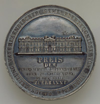 """Preismedaille, Gewerbeausstellung Berlin 1844  Provenance/Rights:  Kunstmuseum Moritzburg Halle (Saale) (CC BY-NC-SA)"