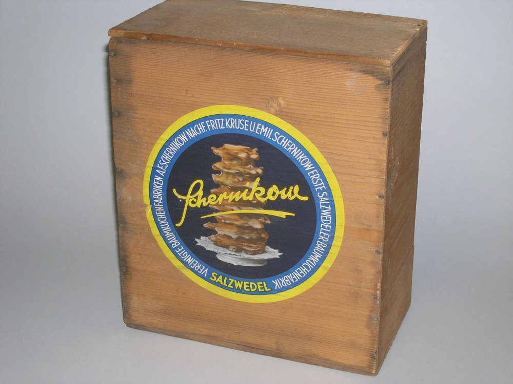 Baumkuchen-Versandkiste