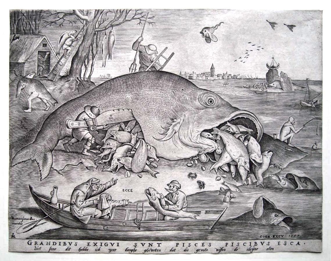 Kulturhistorisches museum magdeburg hieronymus bos for Fressen kois kleine fische